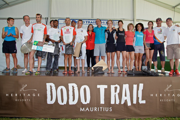 Winners from the Dodo Trail 2013