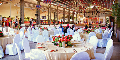 Extraordinary wedding at Heritage Resorts