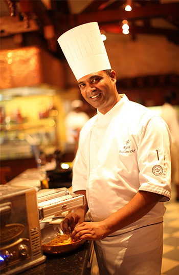 "Chef Ravi Kanhye was selected to take part in the ""Goût de France/Good France"" campaign"