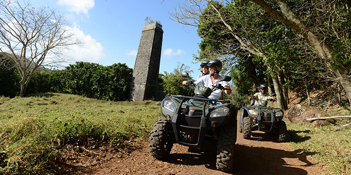 Discovery trail quad, buggy and 4X4 at Frédérica Nature Reserve