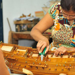 30-year-old model ship factory