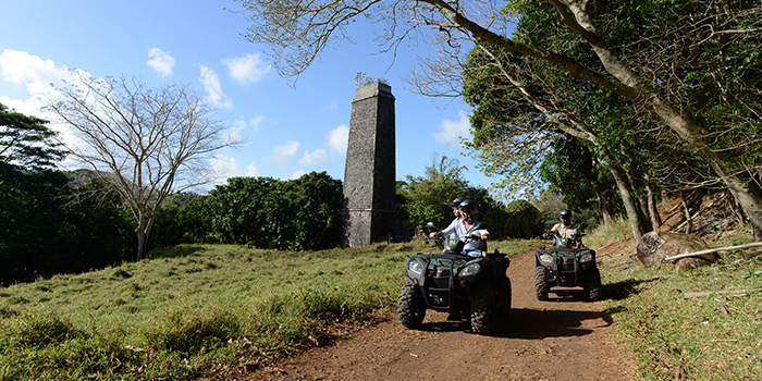 Quad Biking at Frederica Nature Reserve