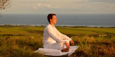 Matthieu Gossart, wellness guru at the Heritage Le Telfair Golf & Spa Resort