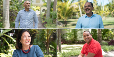 Meet the managers of the Veranda Resorts hotels