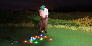 Night golf - holidays in Mauritius