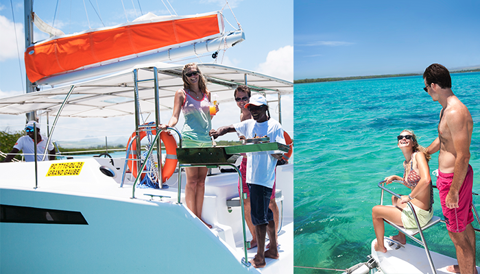 private cruise catamaran