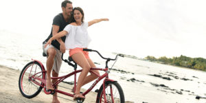 Tandem ride - couples experiences
