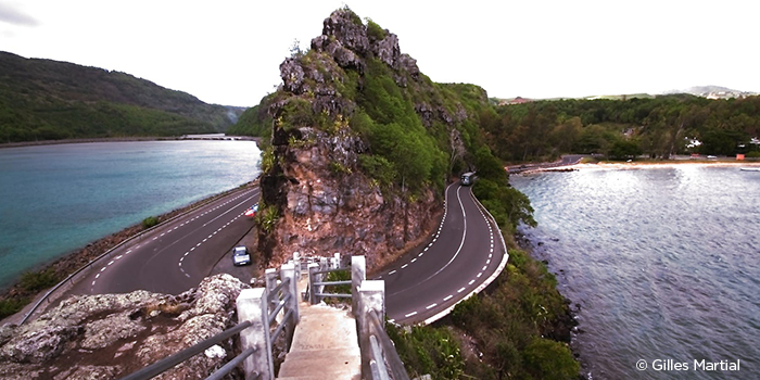 Scenic view at Maconde, Mauritius