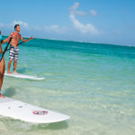 Stand-up paddle - water sports and activities in the East of Mauritius