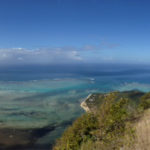 Scenic view from Le Morne Brabant