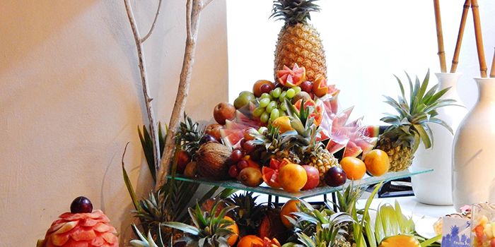 Tropical fruits for a festive holiday at Veranda Palmar Beach Hotel