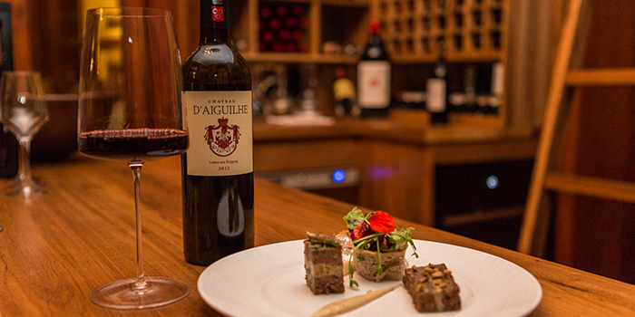 5 courses wine pairing gala dinner at Heritage Le Chateau Bel Ombre Mauritius