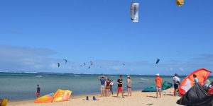 Kitesurf competition 2017 at Heritage C Beach Club
