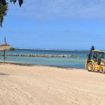 Restoring the beach at Bel Ombre in the South of Mauritius