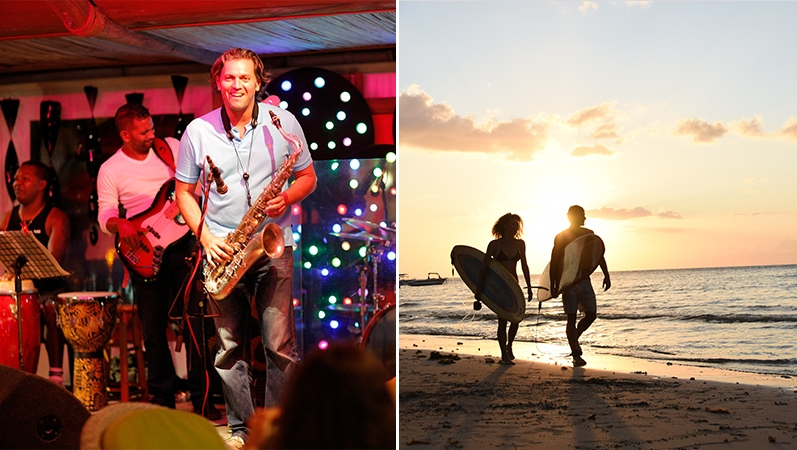Activities and entertainment on the west coast of Mauritius