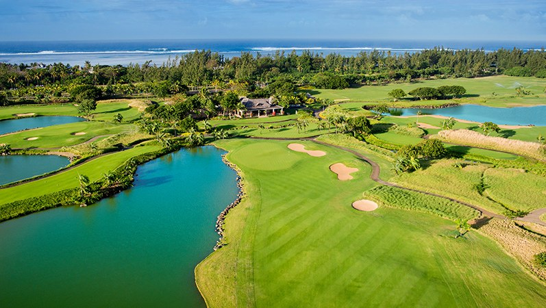 Heritage Golf Club multi award winning golf course in Mauritius