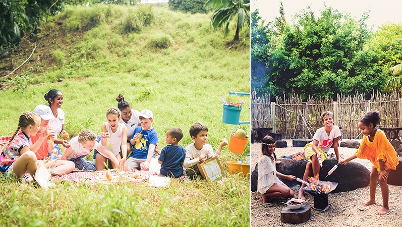 Activities for kids at Veranda Resorts and Heritage Resorts Mauritius