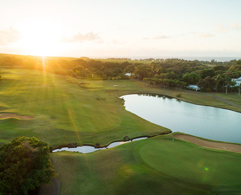 The best golf course in the Indian Ocean