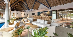 Trendy decor and atmosphere at Heritage C Beach Club